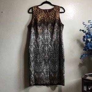 Grrrr animal print inspired dress